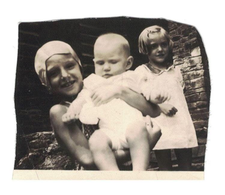 1937 - Beginning love affair with water