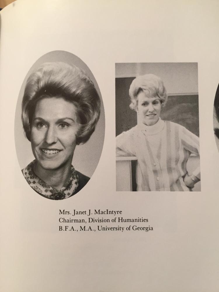 1967 GJC Faculty