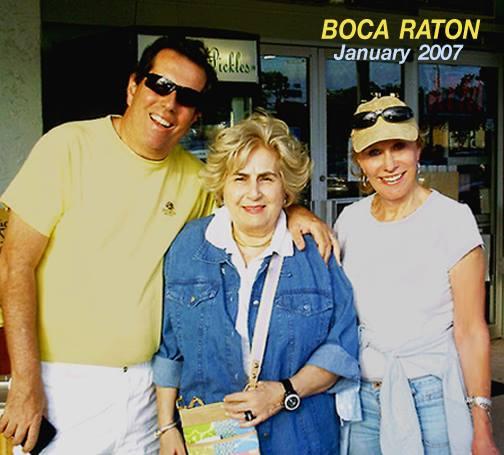 2007 - SteveJanetGloria Boca Raton