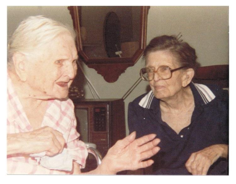 Mama Dorough & Lillian