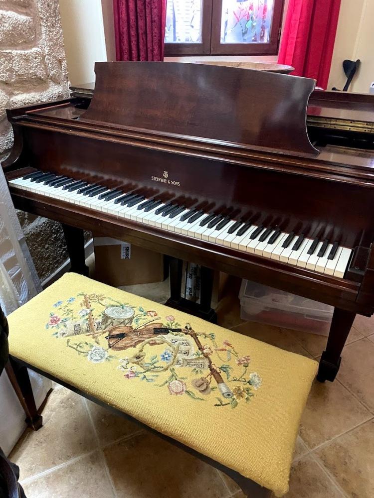 The piano. 2020
